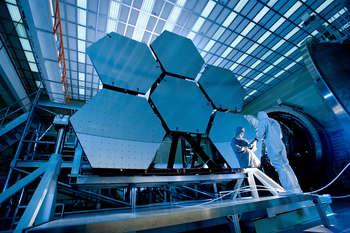 Space Telescope - photo credit: NASA/MSFC/David Higginbotham/Emmett Given