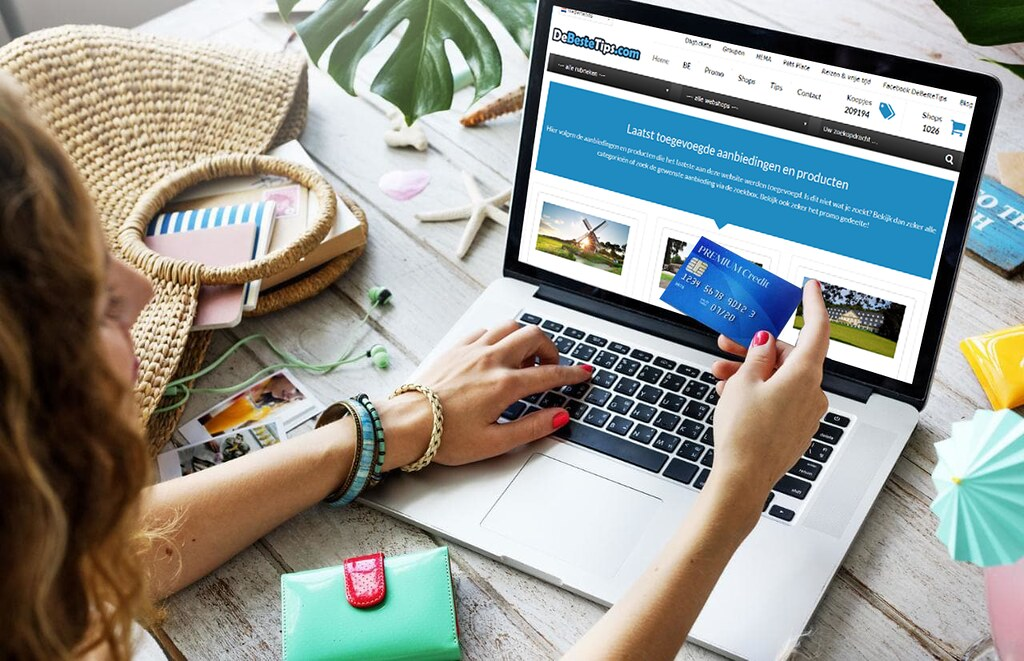 Online Shopping - Photo credit: Elaine Smith
