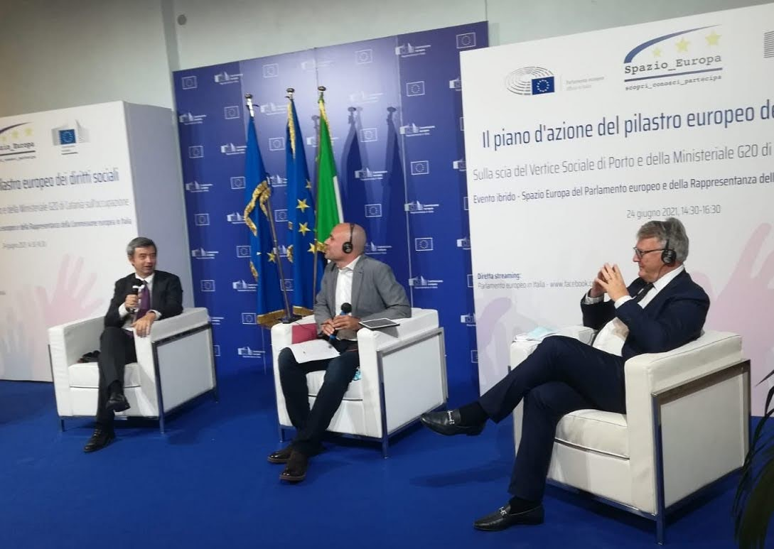 Pilastro diritti sociali - Credit: Ufficio in Italia del Parlamento europeo